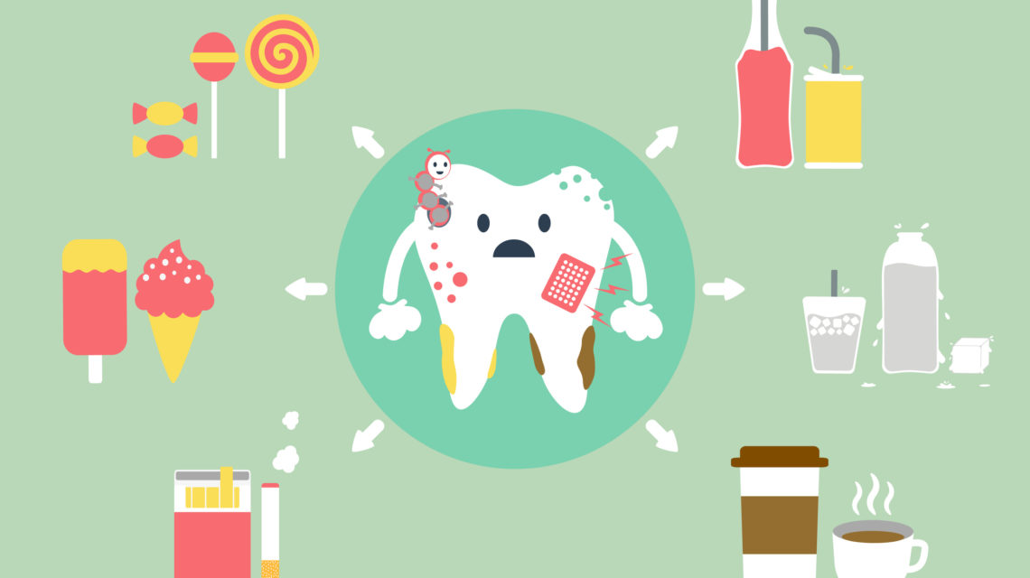 Macchie dentali: cause e soluzioni