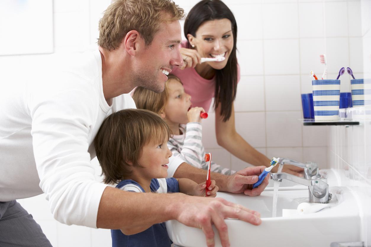 Guida pulizia denti bambini